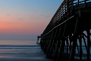 The pier and the sunrise