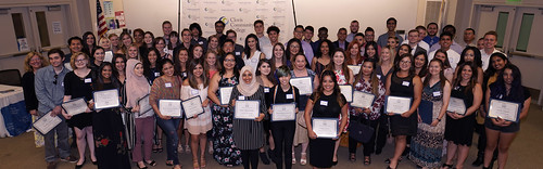 2019 Scholarship Ceremony group
