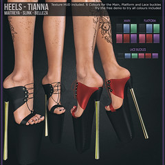 Tooty Fruity - Heels - Tianna