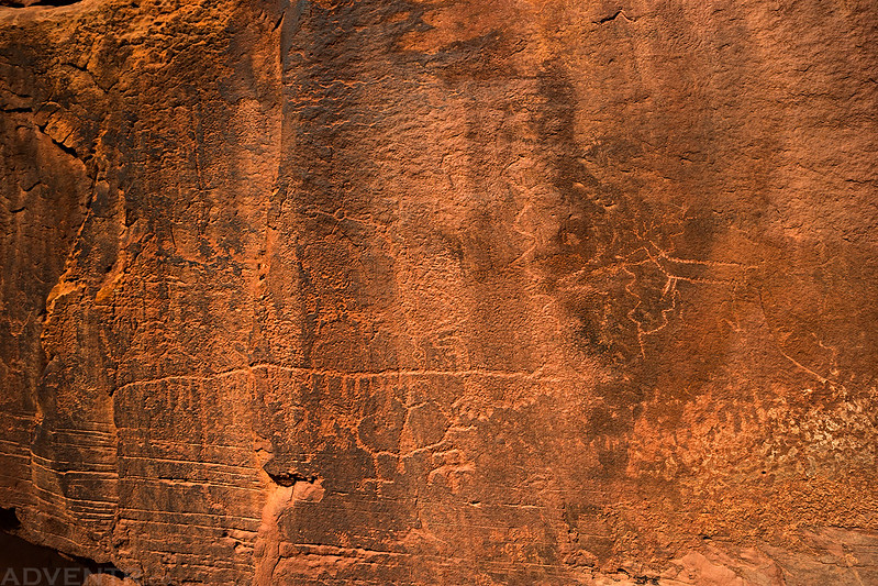 Faded Petroglyphs
