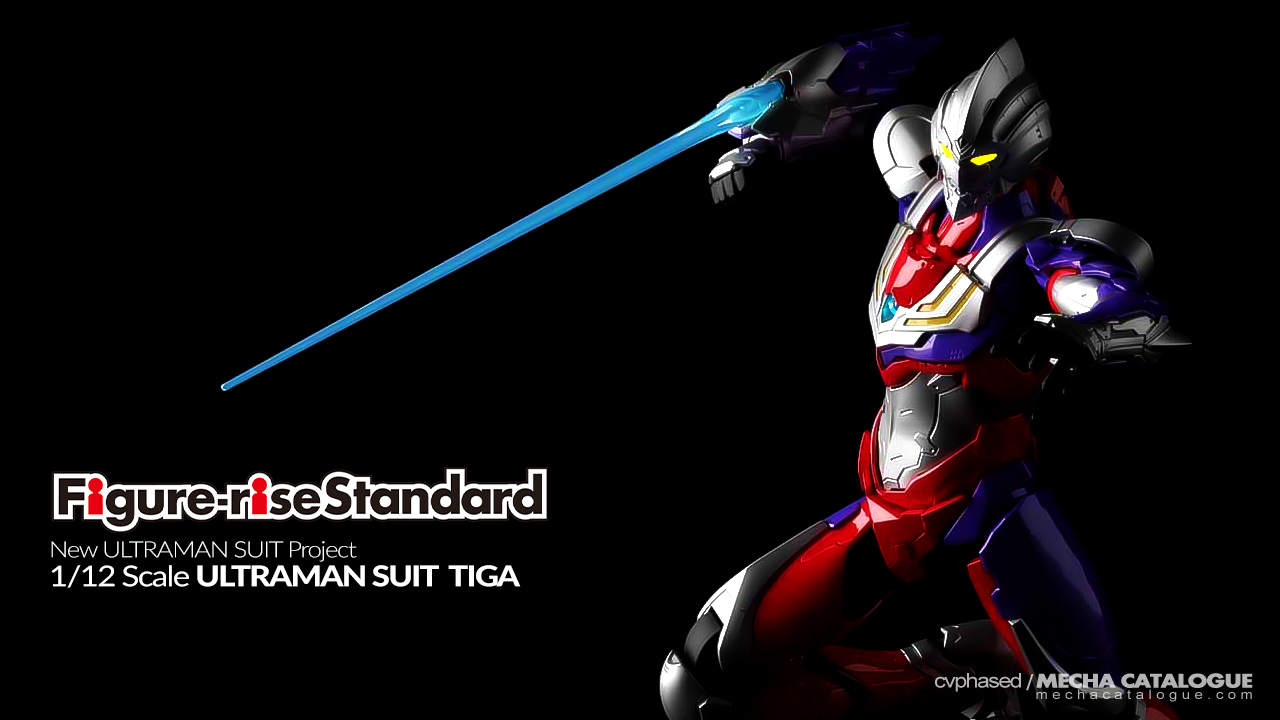 Bandai Spirits Hobby Listings, October 2019: Figure-rise Standard ULTRAMAN SUIT TIGA