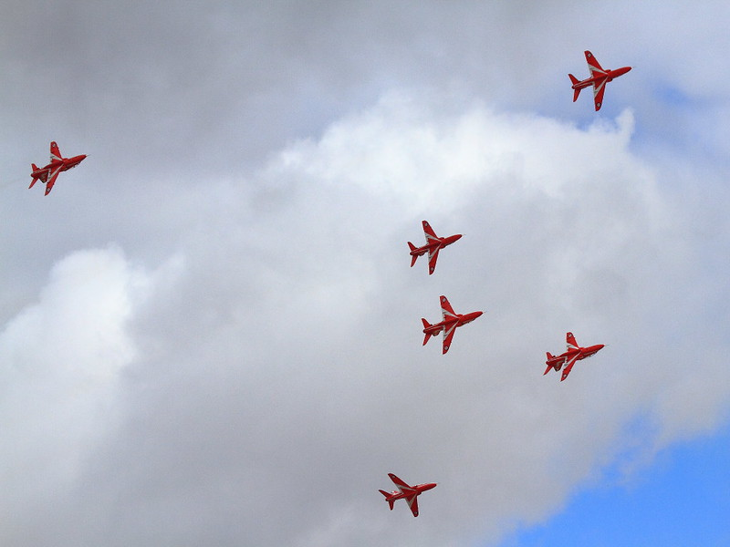 IMG_5006 RAF Red Arrows