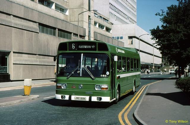 JNO199N National Bus Company NBC Eastern National ENOC 1750