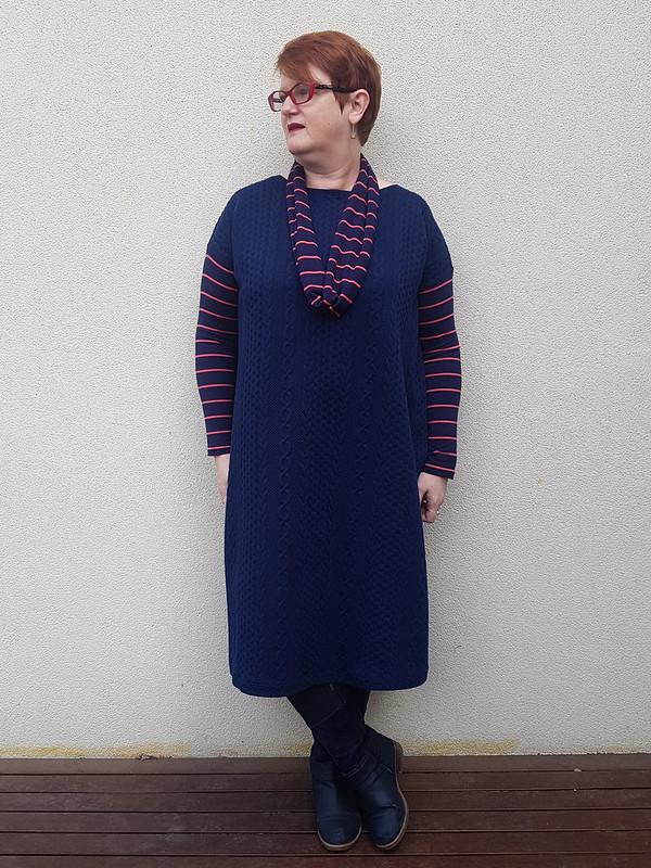 Tessuti Mandy boat tee as dress