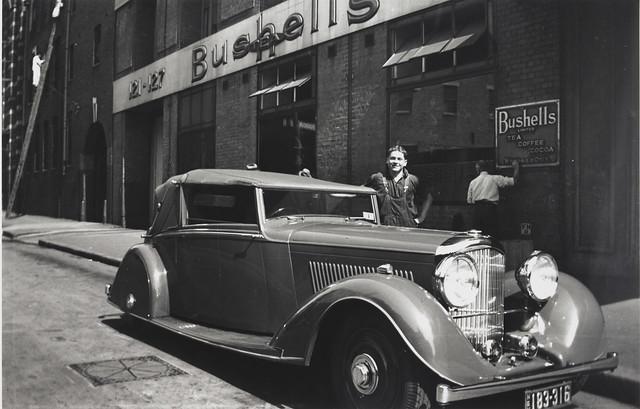 Phillip Bushells Bently, Harrington Street, Sydney, 1936-1937,  PXE 1554