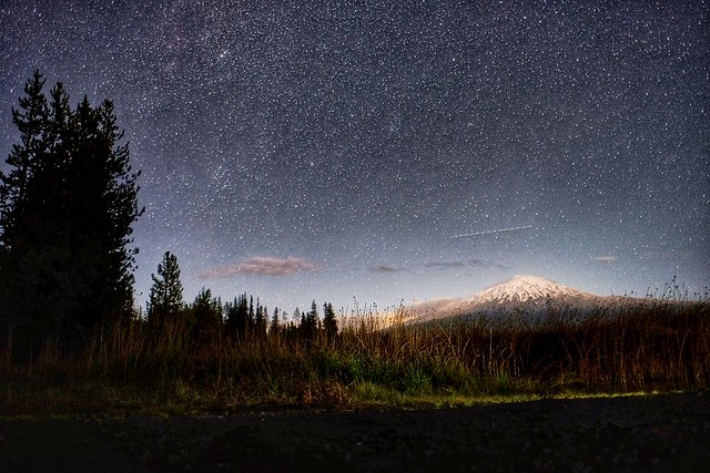 Oh Starry Night... Oh Mt Bachelor
