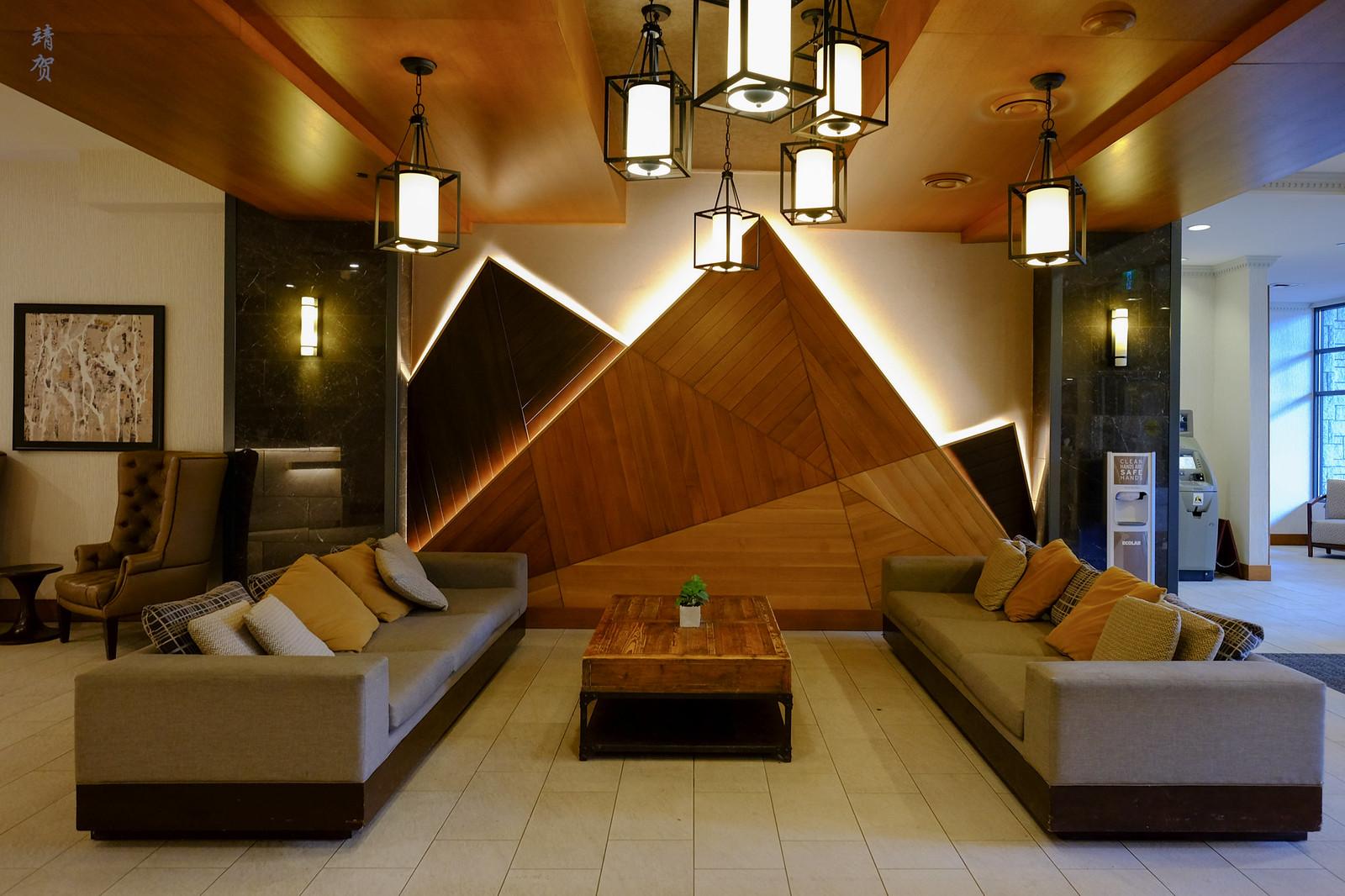 Sofa in the lobby
