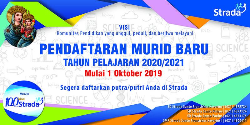Pendaftaran Murid Baru Tahun Pelajaran 2020-2021