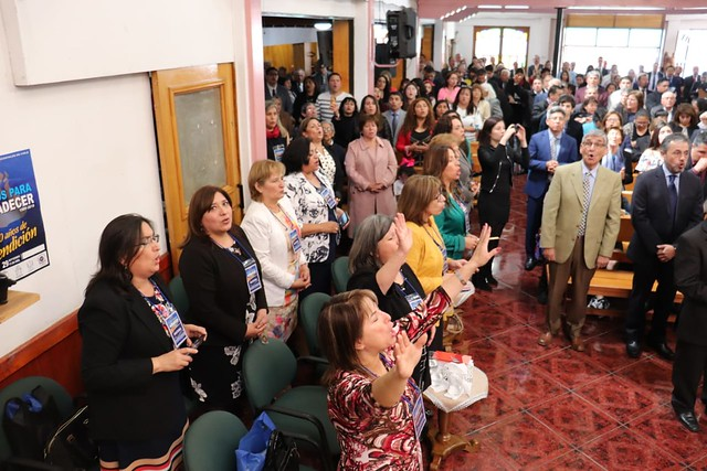 Unidos para agradecer en Pedro Aguirre Cerda