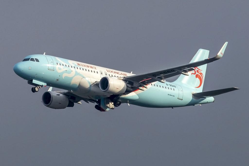 B-8560 A320WL Loong Air 13-09-19 KMG maarten-sr