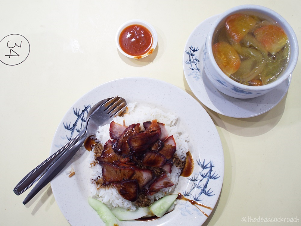 char siew, food, food review, holland drive market & food centre, leong wei roasted delights, review, roast, roasted pork, siew yoke, singapore, sio bak, 良伟腊味饭,