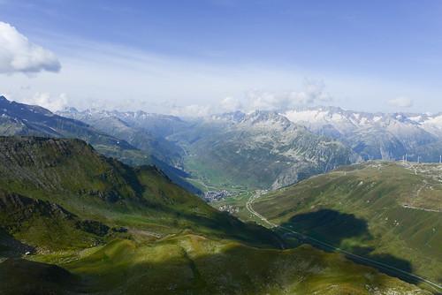 Oberalp and Andermatt