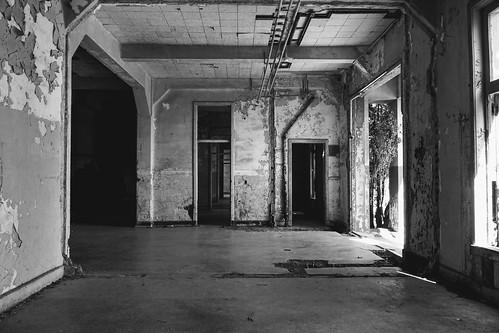 Abandoned hospital, Fort McDowell, Angel Island, San Francisco Bay