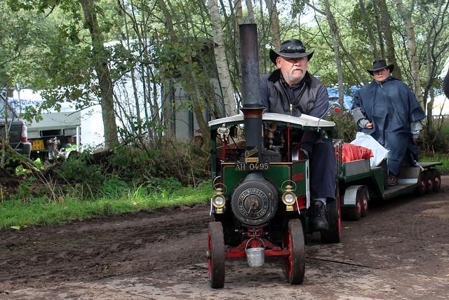 1918 Burrell Patent Steam Wagon, a working model