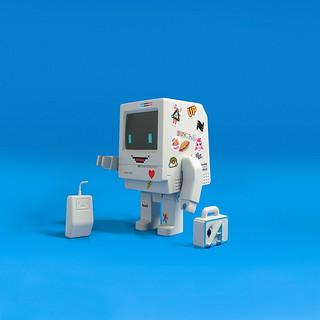 【TTF2019】為療癒系機器人增添懷舊街頭感! Classicbot × Toys To Art【Classicbot Classic StickerBomb Edition】將在 A 60 攤位超激限量發售~