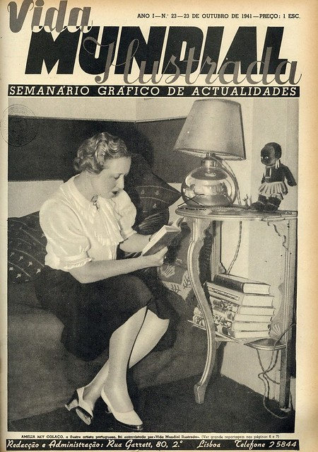 Capa de revista antiga | old  magazine cover | 1941