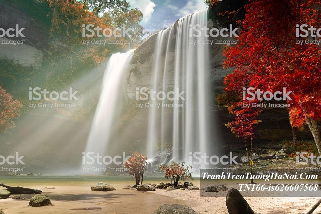 Tranh thac nuoc Huay Luang dep AmiA TN166-is626607568