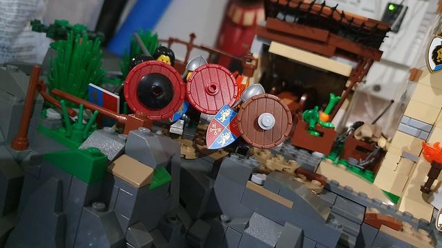 shield wall.!!!