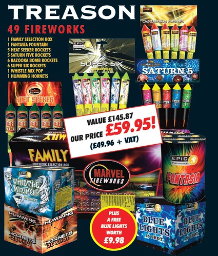 Treason Fireworks Package by Epic Fireworks
