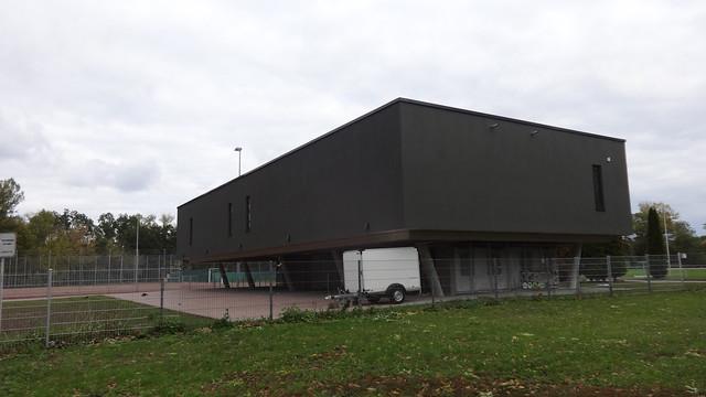 2019 Magdeburg hochwassersicherer Sportlertreff Seilerwiesen von Planungsbüro Rohling (pbr) Seilerweg 1 in 39114 Rotehorn