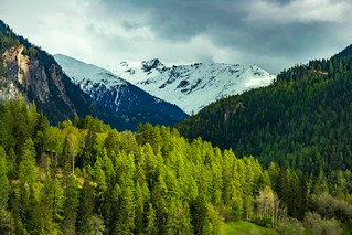 Swiss mountains in spring | by FVillalpando