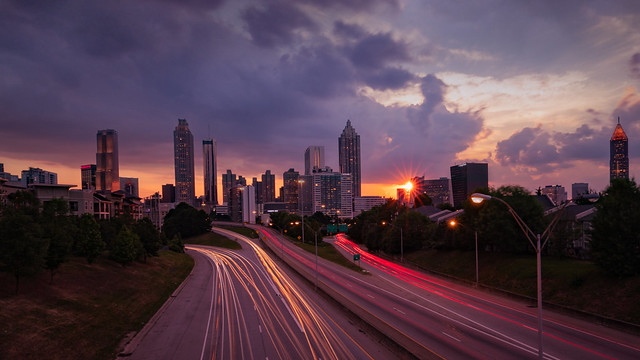 Sunset Atlanta