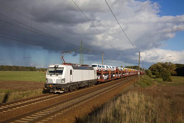 DB 193 365 + Güterzug/goederentrein/freight train  - Nudow