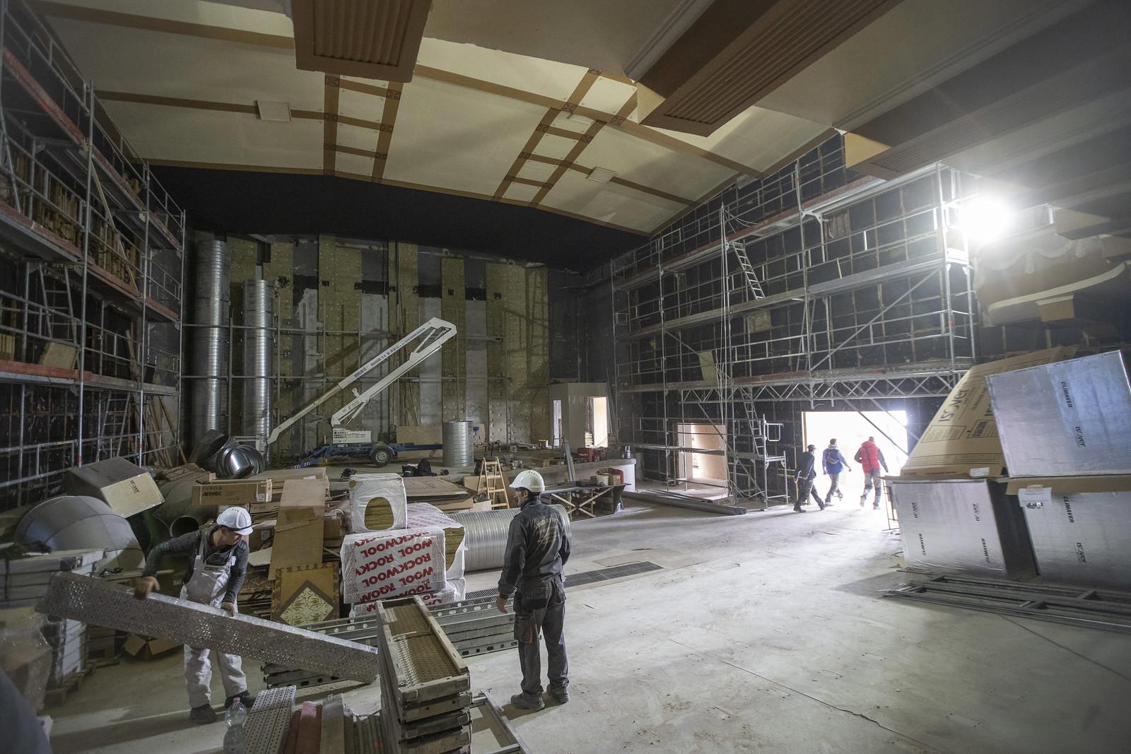 Az év végére befejeződik a Belvárosi mozi felújítása