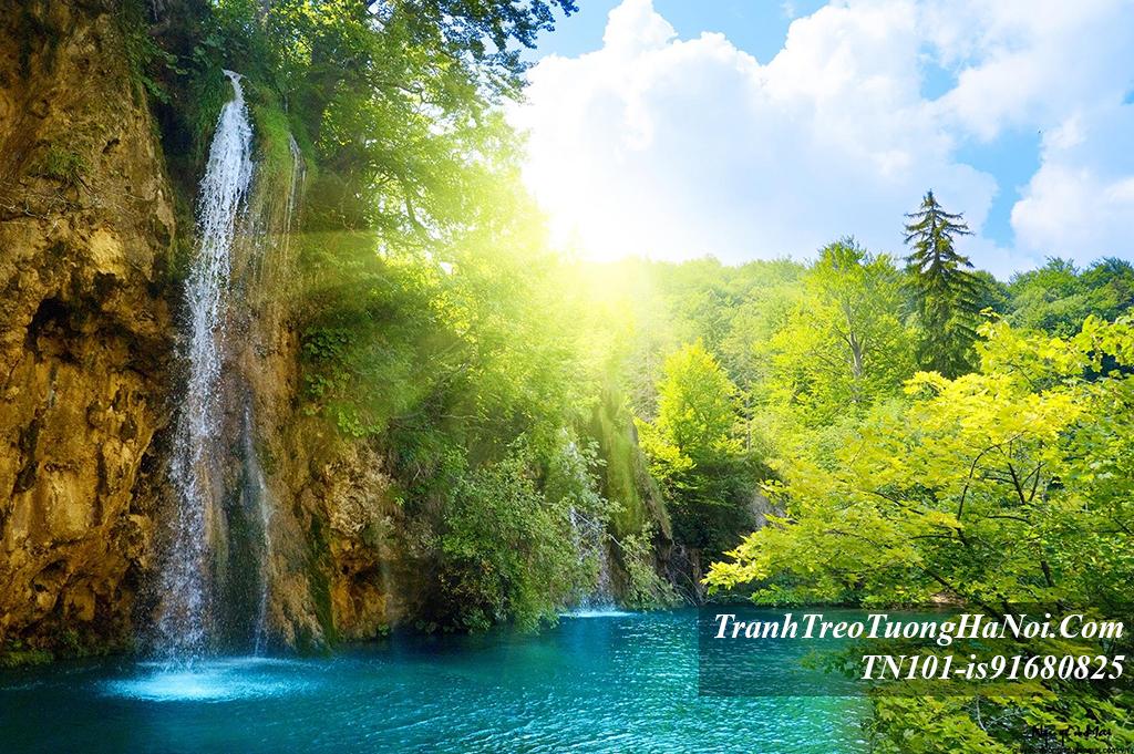 Phong canh dep thac nuoc o cong vien quoc gia TN101-is91680825-Croatia