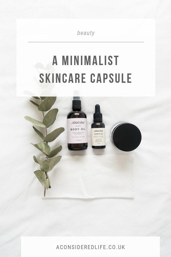 A Minimalist Skincare Capsule