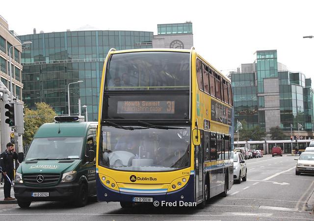 Dublin Bus EV38 (07D30038).