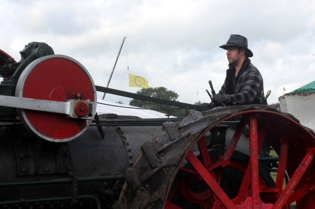 1911 Steam Tractor 'The Minneapolis', the driver
