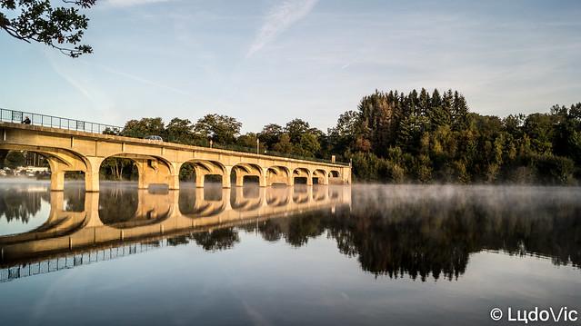 De matin au pont d'Halen