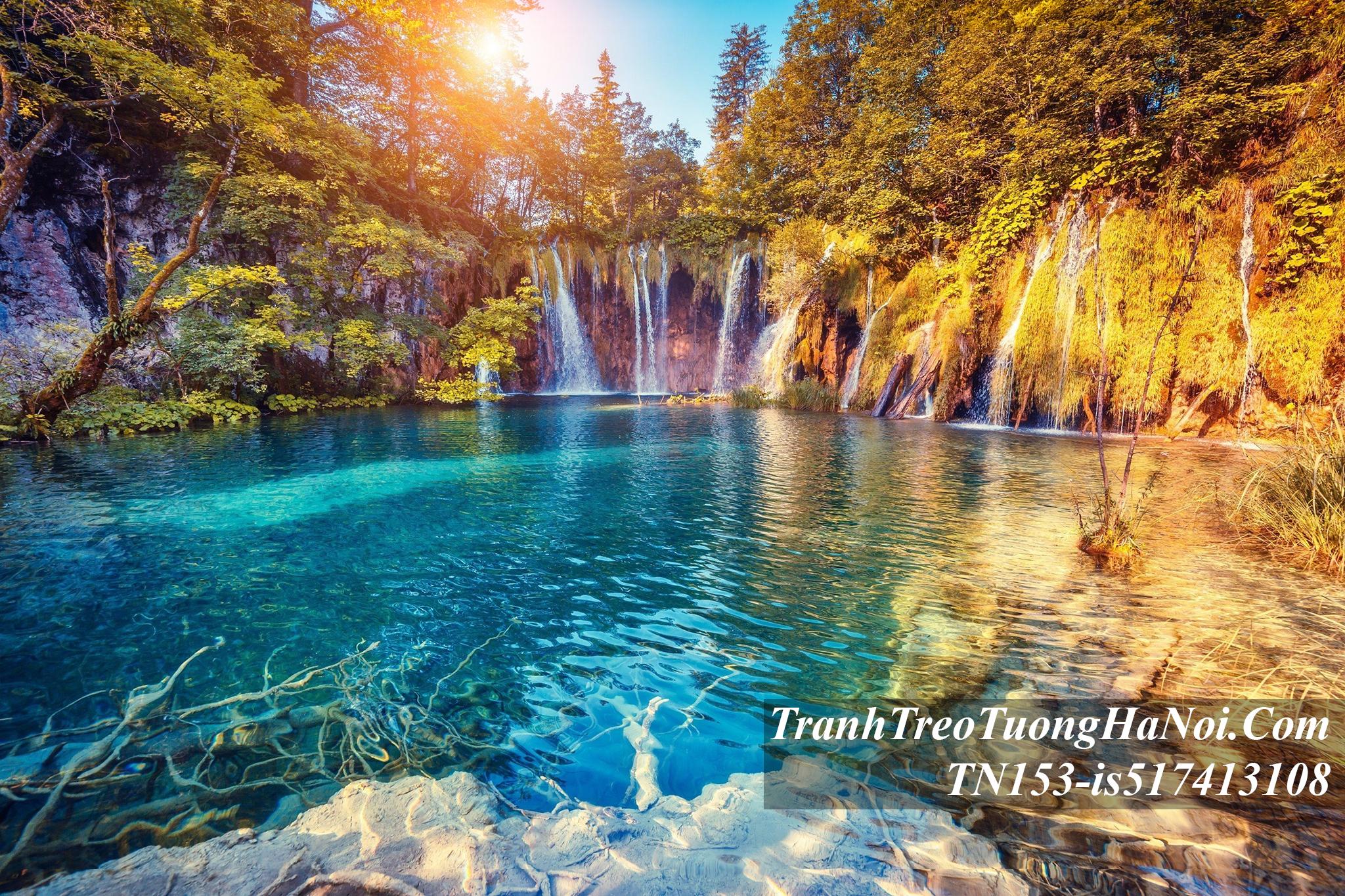 Phong canh dep thac nuoc mua thu amia TN153-is517413108-Croatia