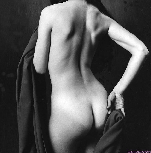 nu drapé - nude