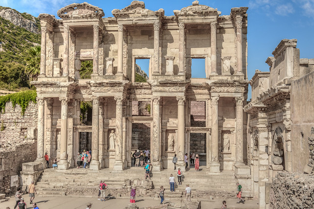 Ephesus. Library of Celsus