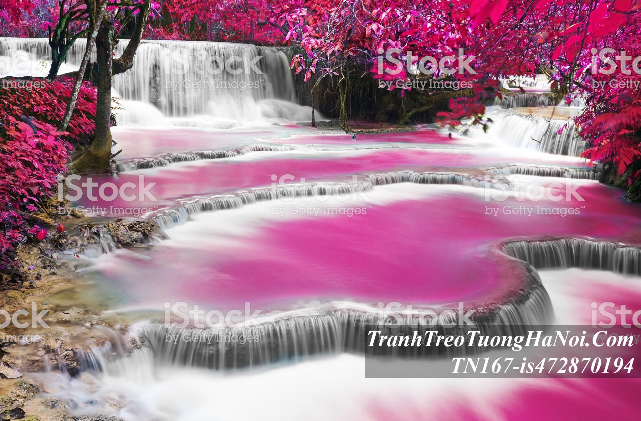 Tranh thac nuoc mau tim dep mua thu AmiA TN167-is472870194