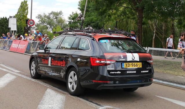 Skoda Octavia Team Sunweb Tour de France