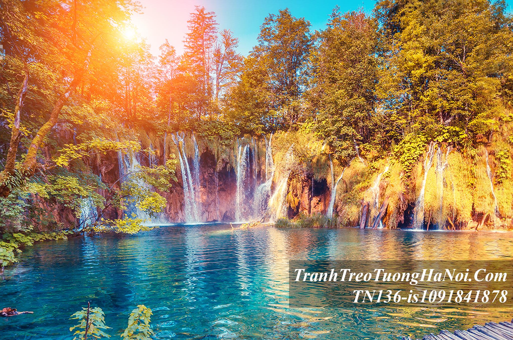 Tranh mua thu thac nuoc dep o Croatia AmiA TN136-is1091841878