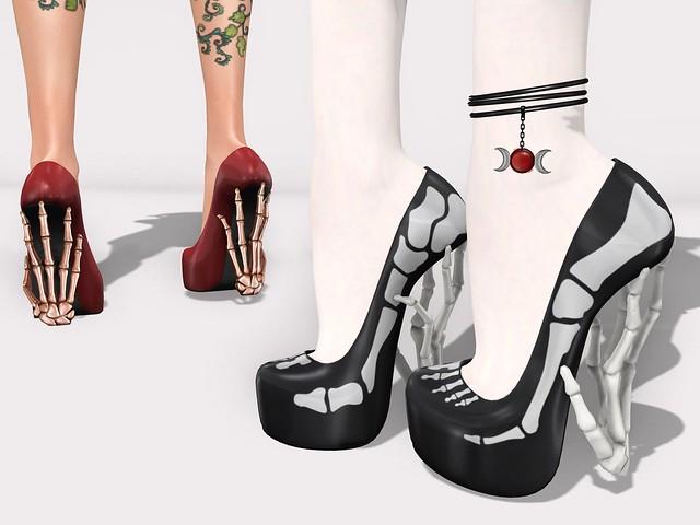 haunted arrhythmic heels