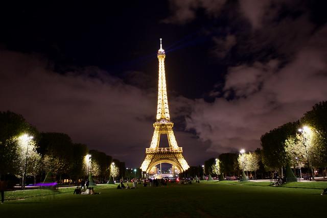 Champ de Mars Eiffel Tower