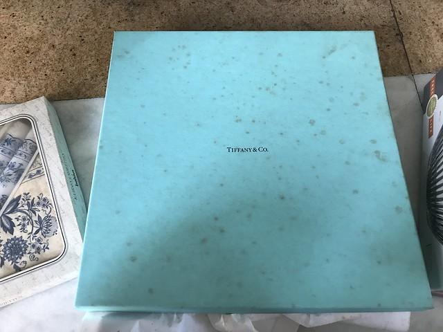 Tiffany crystal box