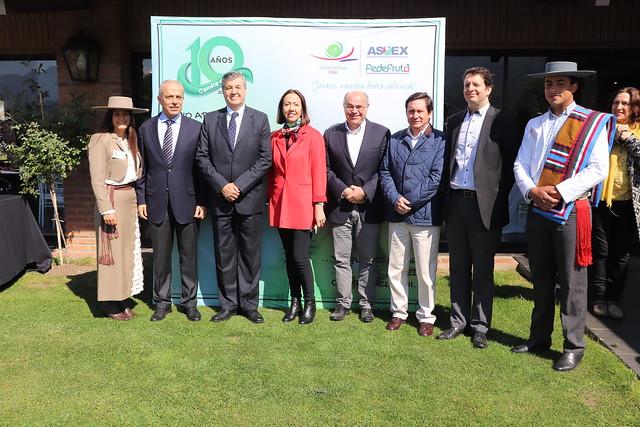 Celebración 10 Años del Comité del Kiwi de Chile