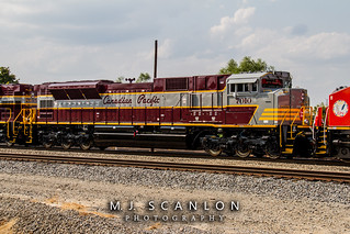 CP 7010 | EMD SD70ACu | CN Shelby Subdivision