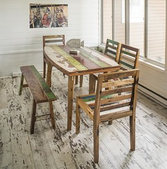 Boatwood Dining Set Powell