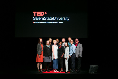TEDxSalemStateUniversity_2019_Speakers and Provost 4