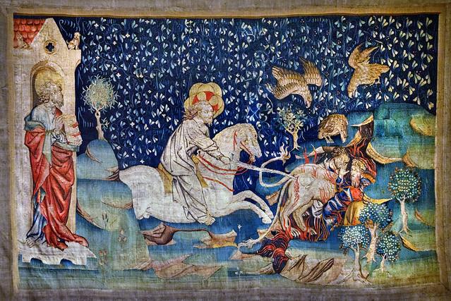 Apocalypse Tapestry, Angers.