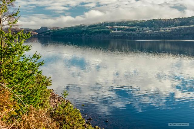 Across Loch Ness towards Inverfarigaig.