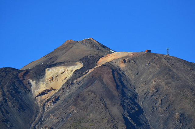 Summit of Mount Teide, Teide National Park, Tenerife