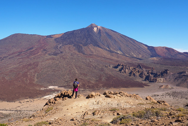 Looking over the park, Teide National Park, Tenerife
